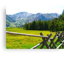 Tahoe Landscape Canvas Print