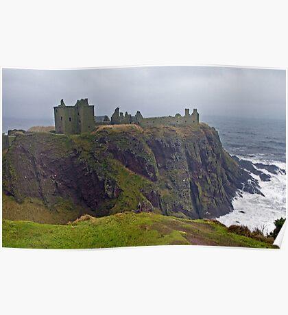 Dunnottar Castle Aberdeenshire Poster