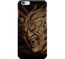 Lunging Demon  iPhone Case/Skin