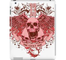 13 The Lucky One iPad Case/Skin