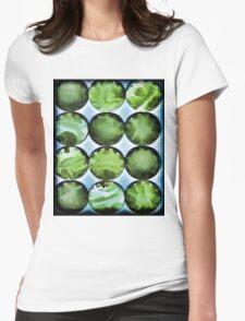 Green Goddess Womens Fitted T-Shirt