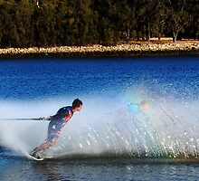 Water Skier by Eve Parry