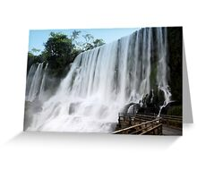 Power of Water Greeting Card