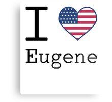 I love Eugene Metal Print