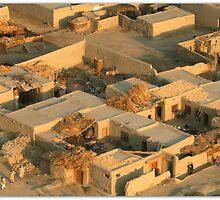 An Afghan Village by capturedjourney