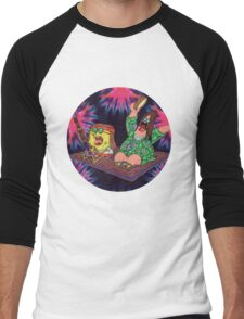 Psychedelic Sponge Men's Baseball ¾ T-Shirt