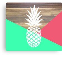 Pineapple Loving Canvas Print