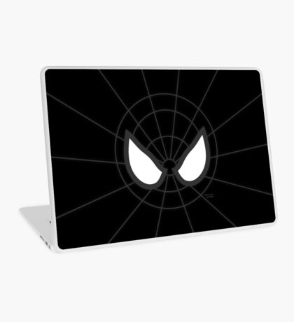 Heros - Black Spidey Laptop Skin