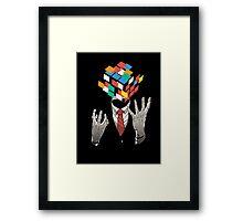 Mind Game Framed Print