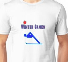 The Alpine Skier Unisex T-Shirt