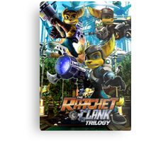 Ratchet & Clank Trilogy  Metal Print