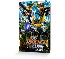 Ratchet & Clank Trilogy  Greeting Card