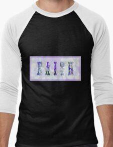 Faith And Wild Violets Men's Baseball ¾ T-Shirt