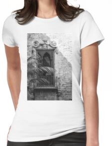 Gothic Window Womens Fitted T-Shirt