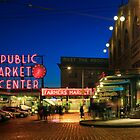 Pike&#x27;s Place Market by Inge Johnsson