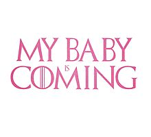 My baby is coming Photographic Print