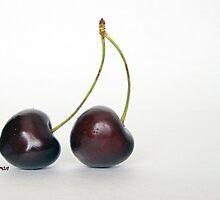 twin cherries by Fran E.