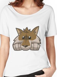 Animal Jam Wolf Plushie Women's Relaxed Fit T-Shirt