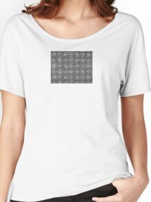The Yarn B&W Women's Relaxed Fit T-Shirt