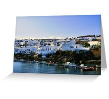 Harbour at Puerta Del Carmen Greeting Card
