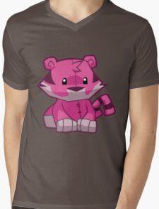 Animal Jam Tiger Plush Mens V-Neck T-Shirt