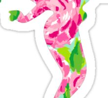Lilly Pulitzer Inspired Little Mermaid - First Impression Sticker