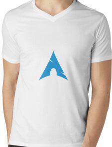 Arch Linux Mug Mens V-Neck T-Shirt