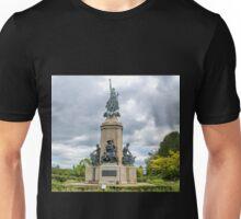 Memorial Statue at Exeter Devon UK Unisex T-Shirt