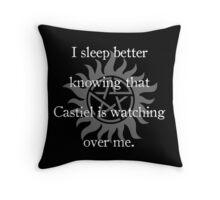Castiel Guardian Angel Throw Pillow
