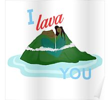 I Lava You Poster