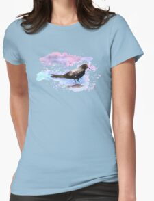 Crow In A Puddle T-Shirt