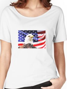 Bald Eagle Women's Relaxed Fit T-Shirt