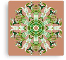 Hummingbird Kaleidoscope  Canvas Print