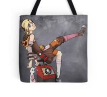 Lady Tina of Blowupyourfaceheim Tote Bag