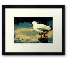 To Where From Here Framed Print