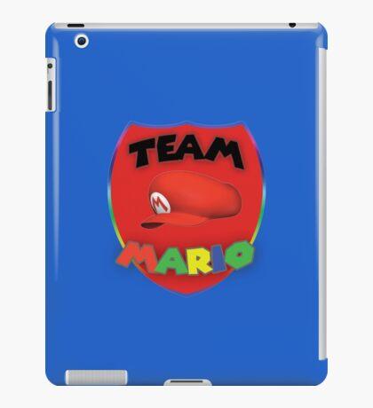 Team Mario iPad Case/Skin