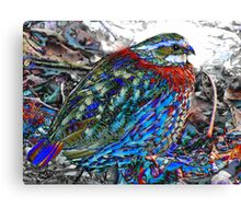 20. Colorfully Camouflaged Canvas Print
