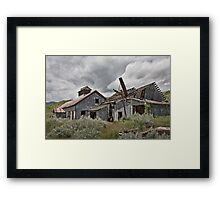 Smith Mine, Montana Framed Print