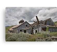 Smith Mine, Montana Canvas Print