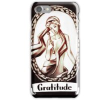Tarot Greeting Card - Gratitude iPhone Case/Skin
