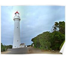 Lighthouse at Airies Inlet, Victoria Australia Poster
