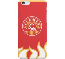 Calgary Flames Patch iPhone Case/Skin