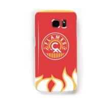 Calgary Flames Patch Samsung Galaxy Case/Skin