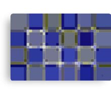 More Blue Canvas Print