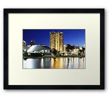 Adelaide overlooking the River Torrens Framed Print
