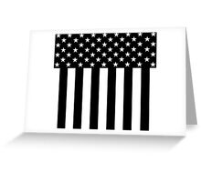 Stars and Stripes Classic Greeting Card
