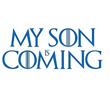 Son is coming Photographic Print