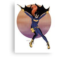 Batgirl- New Costume Canvas Print