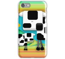 Moo Cow Sunrise Family iPhone Case/Skin