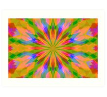Kolorful Kaleidoscope Art Print